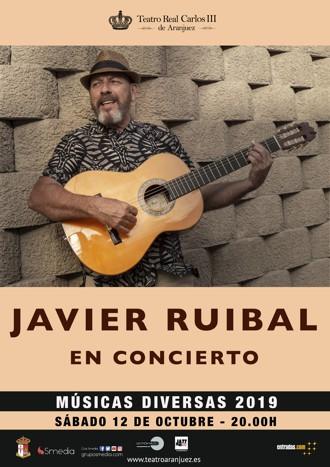 Javier Ruibal en concierto