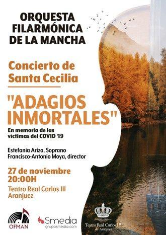 Adagios inmortales - Concierto de Santa Cecilia