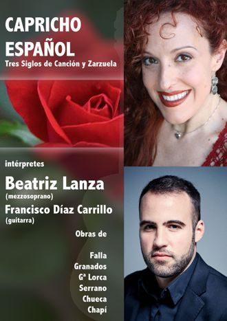Capricho español - Tres siglos de Canción y Zarzuela