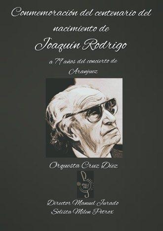 Conmemoracion centenario del nacimiento de Joaquín Rodrigo