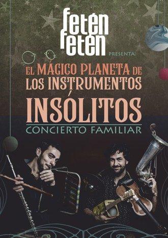 El mágico planeta de los instrumentos insólitos