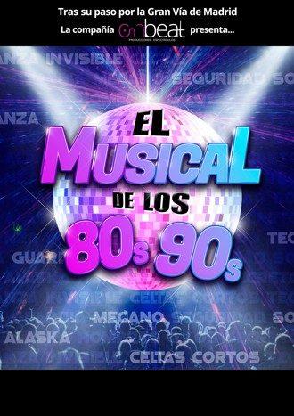 El musical de los 80 a los 90
