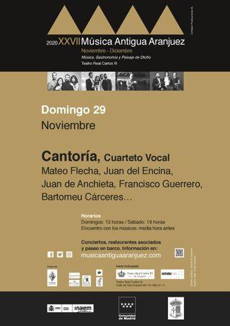 Cantoría, cuarteto vocal: Malas lenguas