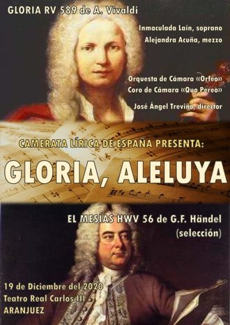 Gloria, Aleluya - Camerata Lírica