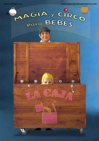 La caja, magia y circo para bebés