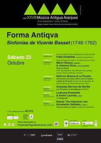 XXVIII Festival de Música Antigua - 23oct